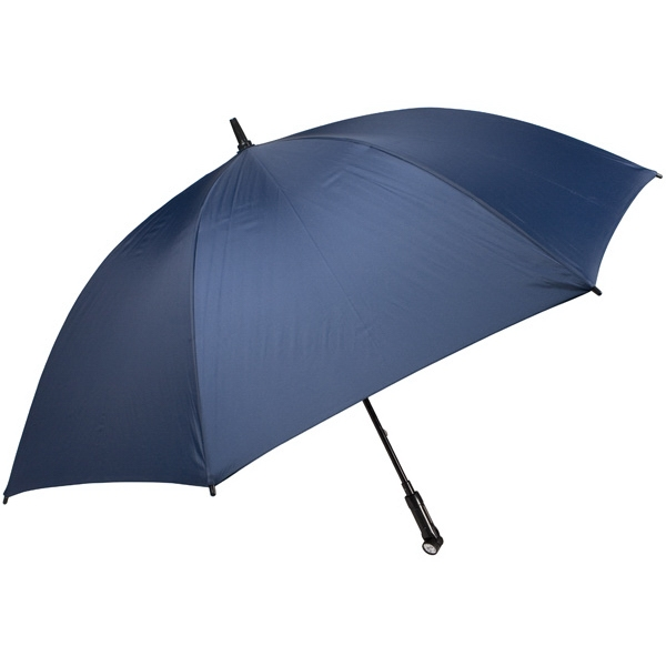 "Nitevision (tm) - Navy - 60"" Arc Umbrella With Led Light Handle Photo"