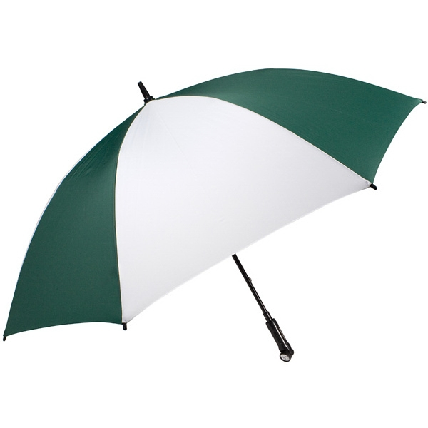 "Nitevision (tm) - Pine-white - 60"" Arc Umbrella With Led Light Handle Photo"