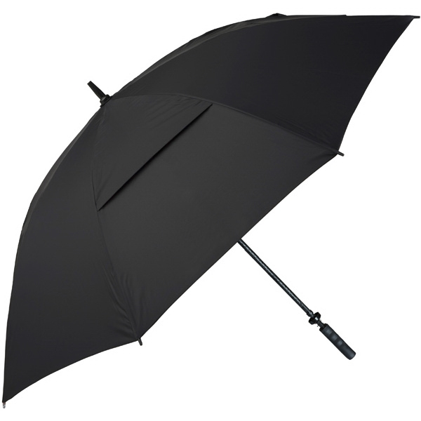 "Hurricane 345 (r) Tour Plus - Black - Golf Umbrella With A 62"" Arc And Wind-vents Photo"