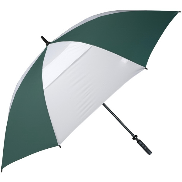 "Hurricane 345 (r) Tour Plus - Pine-white - Golf Umbrella With A 62"" Arc And Wind-vents Photo"