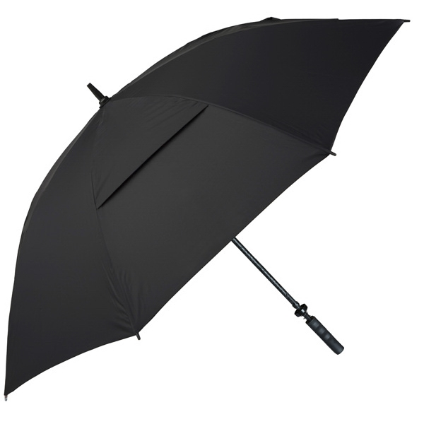 Hurricane 345 (r) Auto Open - Black - Special Edition Wind-vented Auto Open Golf Umbrella Photo