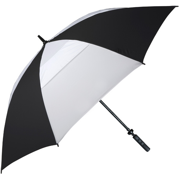 Hurricane 345 (r) Auto Open - Black-white - Special Edition Wind-vented Auto Open Golf Umbrella Photo