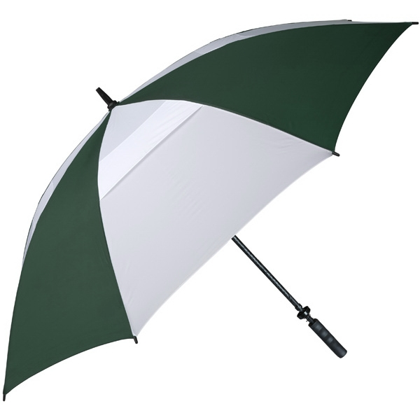 Hurricane 345 (r) Auto Open - Pine-white - Special Edition Wind-vented Auto Open Golf Umbrella Photo