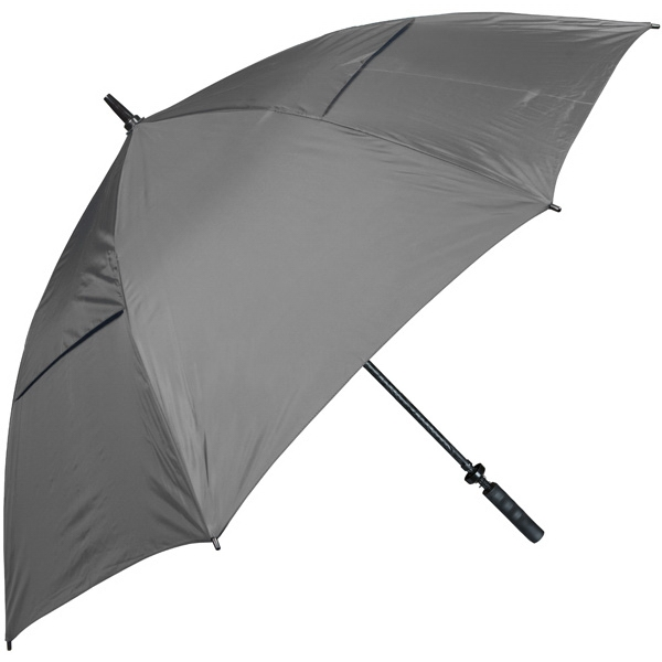 Hurricane 345 (r) Auto Open - Gray - Special Edition Wind-vented Auto Open Golf Umbrella Photo