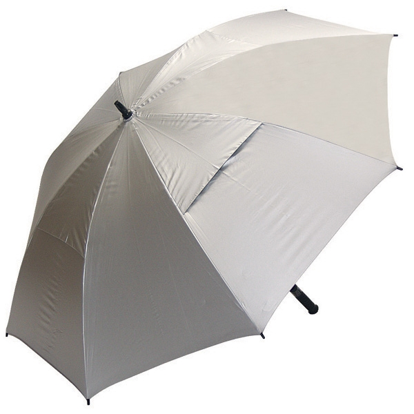 Hurricane 345 (r) Sunflector - Wind Vented Umbrella With Uv Protective Reflective Material Photo