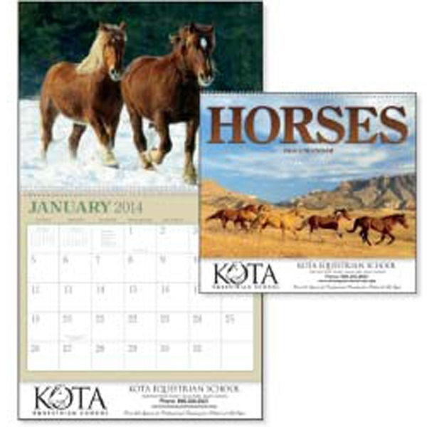 Graceful And Free-spirited Horses Are Featured In This Unique 2015 Calendar Photo