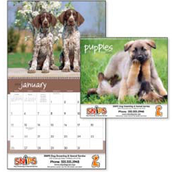 Cute And Cuddly Puppies Bring Smiles All Year Long With This 2015 Calendar Photo