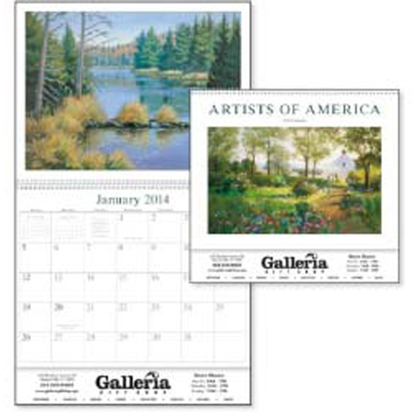 Artists Of America - American Artists Capturing Beautiful American Landscapes In This 2015 Calendar Photo