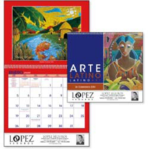 Latino Art - A Variety Of Artists Depict Latin American Cultures In This Colorful 2015 Calendar Photo
