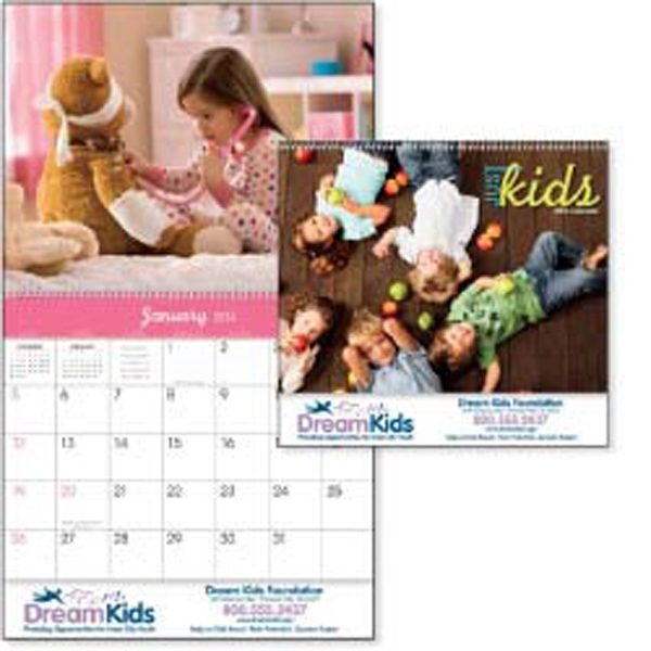 Just Kids - There Is A Smile Every Month With Cute Adorable Kids In This 2015 Calendar Photo