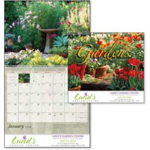 2015 Calendar With Beautiful Backyard Images And Basic Gardening Tips Photo