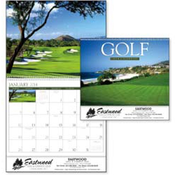 2015 Calendar Highlights Fantastic Holes From Golf Courses Around The United States Photo