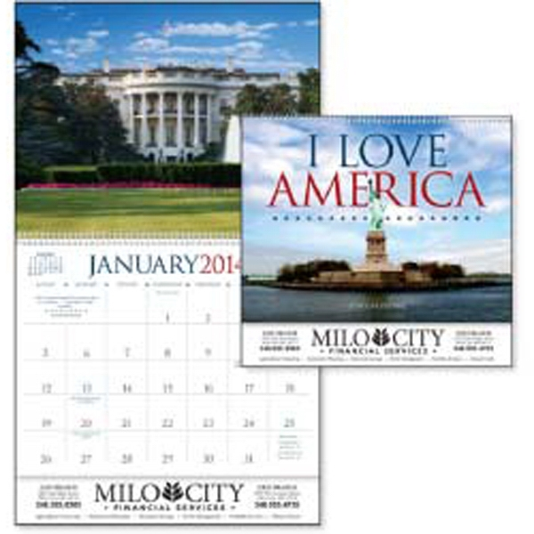 I Love America - 2015 Calendar With Beautiful Images And Inspirational Quotes From Notable Americans Photo