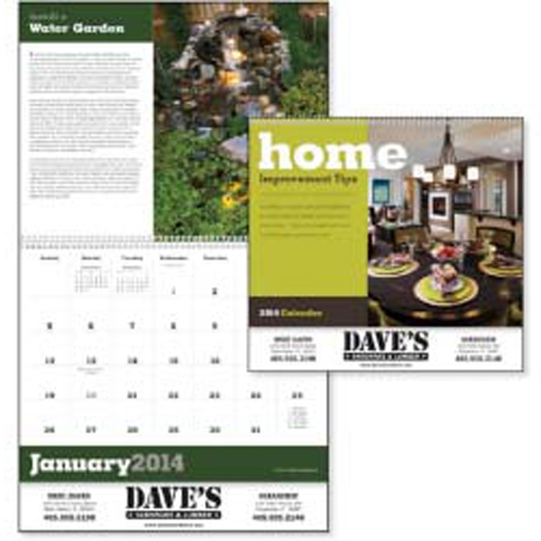 Home Improvement Tips - 2015 Calendar With 12 Basic Tips For Improving Your Home Photo