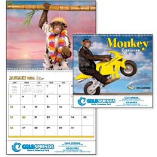 Monkey Business - 2015 Calendar. There Are Laughs A Plenty When Monkeys Go Bananas! Photo