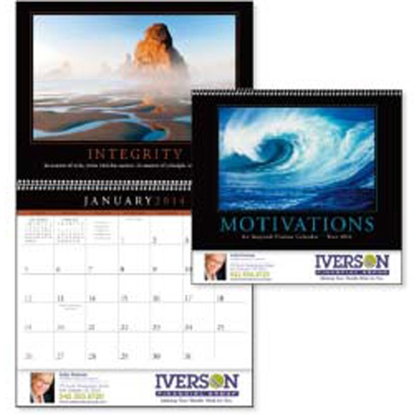 Motivations - 2015 Calendar With Photographs And Inspirational Quotes Photo