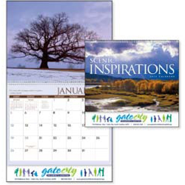 Scenic Inspirations - This 2015 Calendar Features Nature Photography Paired With Inspiring Quotes Photo