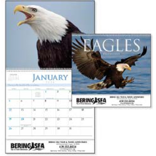 2015 Calendar, Features Photographs Of Majestic Eagles With Inspirational Quotes Photo