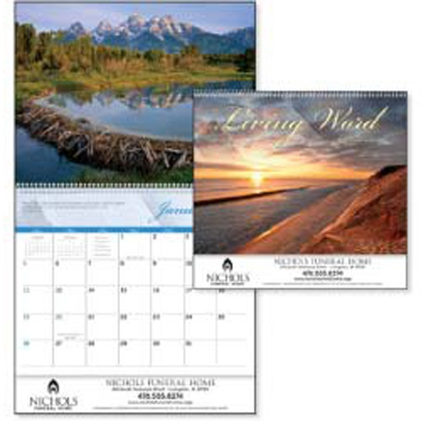 Living Word - 2015 Calendar Pairs Bible Verses With Calming Scenic Images Photo