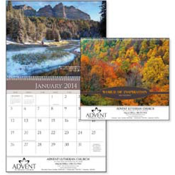 World Of Inspiration - 2015 Calendar With Amazing Landscapes And Verses From The Old Testament Photo
