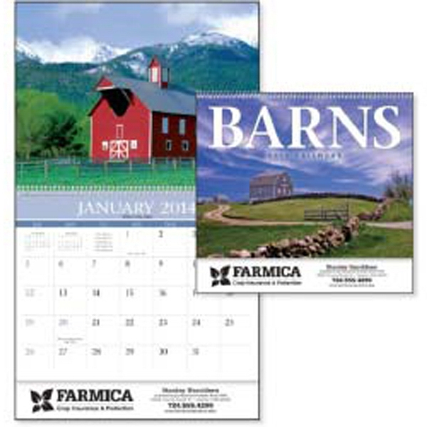 2015 Calendar Featuring Images Of Unique And Historic Barns Bring Country Life Home Photo
