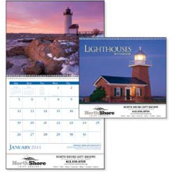 2015 Calendar With Lighthouses From Coasts And Harbors Around The United States Photo