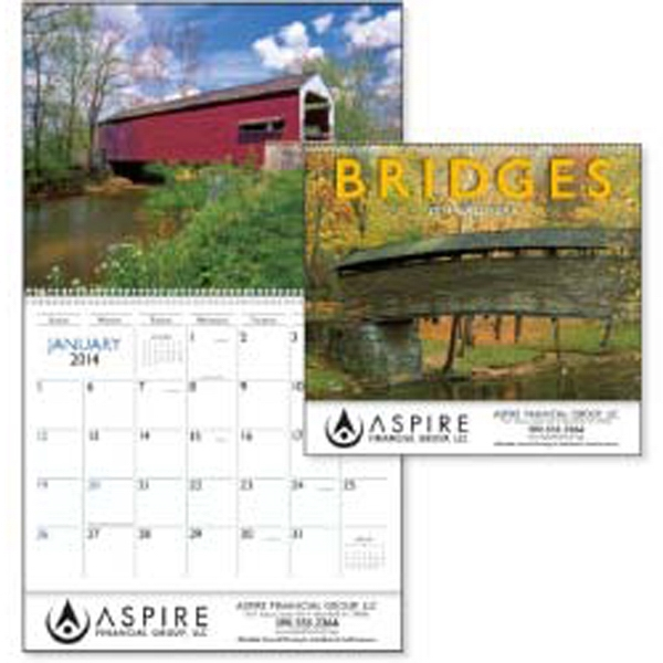 Covered Bridges Are Full Of Romantic Charm In This 2015 Calendar Photo