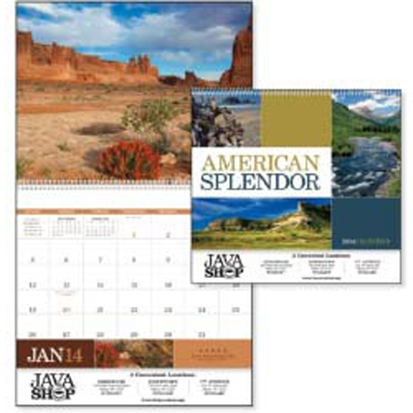 American Splendor - 2015 Calendar With Photographs Of Scenic Splendor From Every Corner Of America Photo