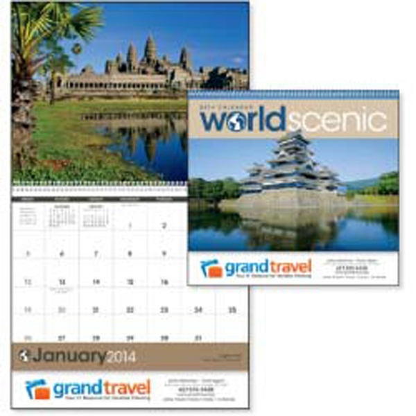 World Scenic - 2015 Calendar With Beautiful Scenic World Photographs Photo