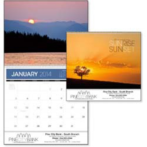Sunrise Sunset - 2015 Calendar With Beautiful Photographs Of Colorful Sunrises And Sunsets Photo