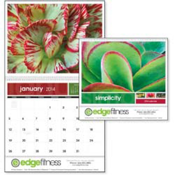 Simplicity - Experience The Finest Details Of Nature Up Close On This 2015 Calendar Photo