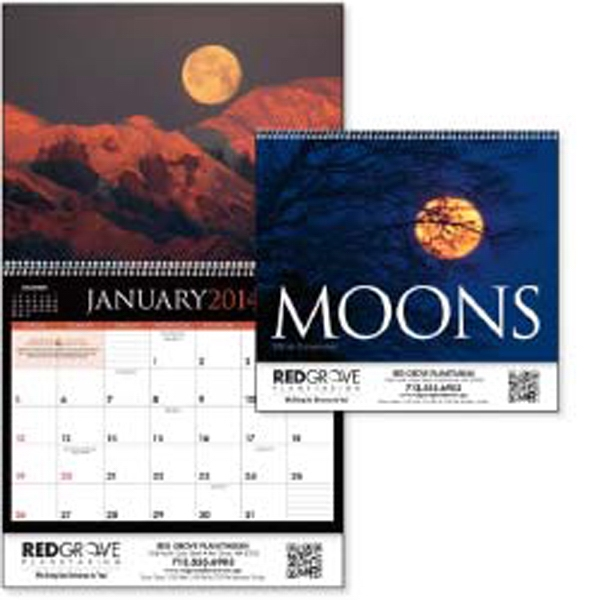 Be Enchanted By The Moon's Beauty In This 2015 Calendar Photo