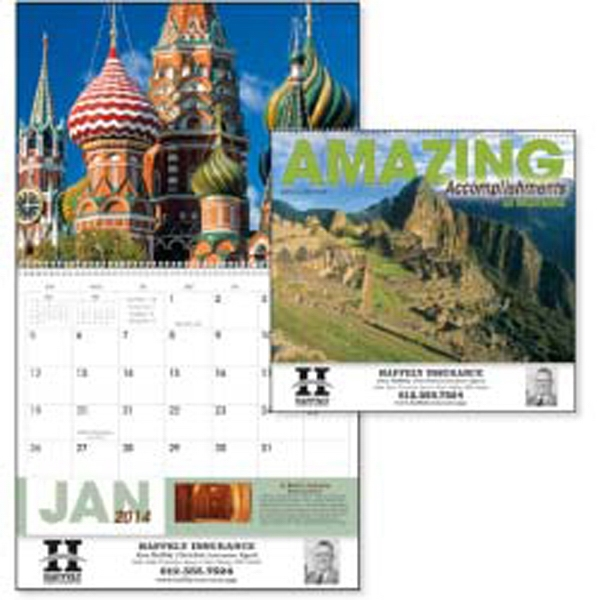 Amazing Accomplishments Of Mankind - 2015 Calendar. Tour The World's Most Awesome Structures From Ancient To Modern Photo