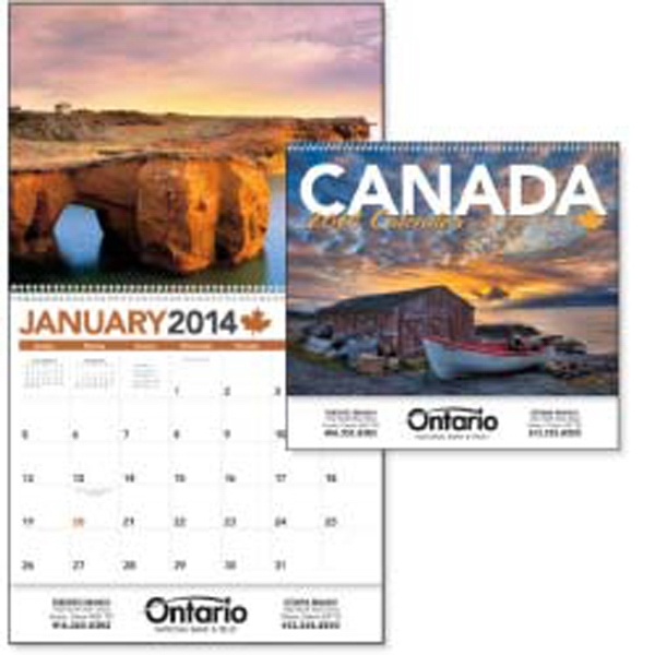 Canada's Beauty Impresses All Year Long In This 2015 Calendar Photo