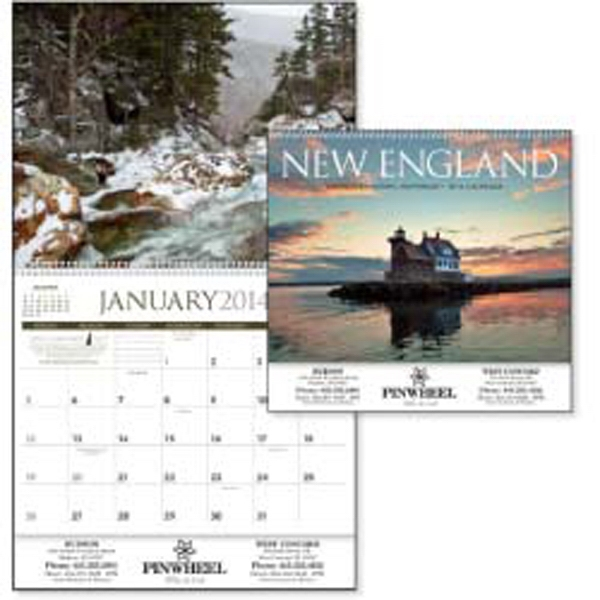 New England's Beauty Never Fails To Impress In This 2015 Calendar Photo