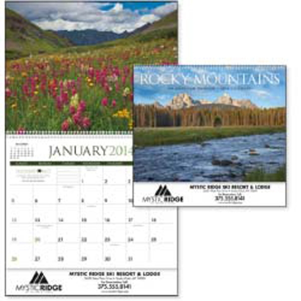 The Rocky Mountains 2015 Calendar Features Photographs And Facts Photo
