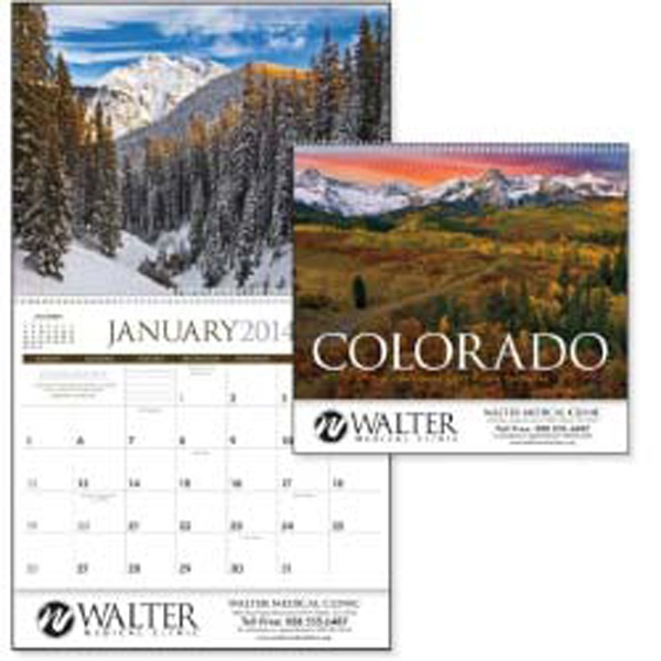 2015 Calendar With Gorgeous Photography Of Locations Throughout Colorado Photo