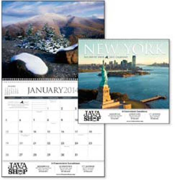 This 2015 Calendar Gives You A 12-month Tour Of New York's Unforgettable Scenery Photo