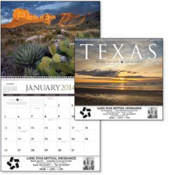Enjoy The Diverse Landscapes Of Texas All Year Long In This 2015 Calendar Photo