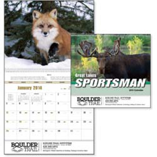 Great Lakes Sportsman - Get Hunters Ready For Openers With This Region Specific Great Lakes 2015 Calendar Photo