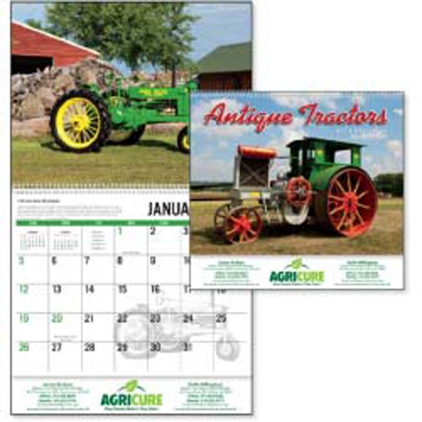 Antique Tractors - This 2015 Calendar Features Beautifully Restored Tractors Of Yesteryear Photo