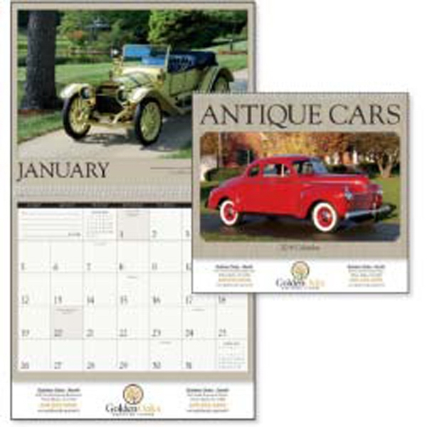 Antique Cars - 2015 Calendar Featuring Photographs Of Classic, Elegant Cars Photo