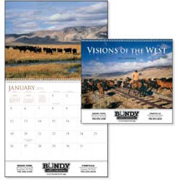 Visions Of The West - This 2015 Calendar Is Filled With Rolling Hills, Wide Open Spaces & Western Spirit Photo