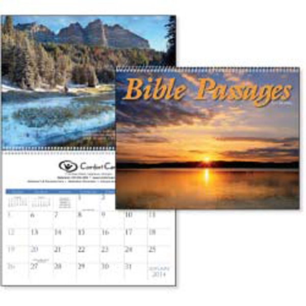 Bible Passages - 2015 Calendar Which Features Bible Verses Paired With Beautiful Nature Shots Photo