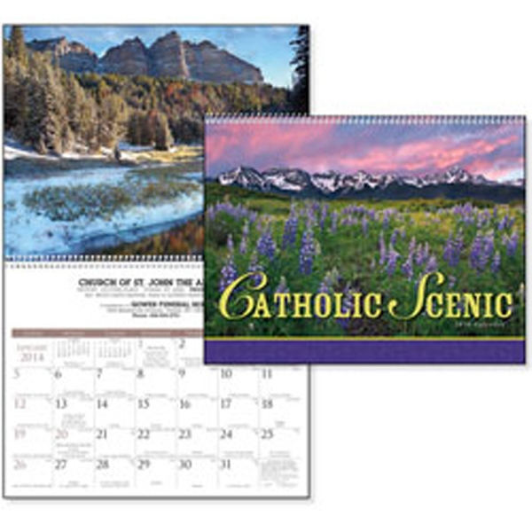 Catholic Scenic - 2015 Calendar With Striking Nature Photography And An Appropriate Bible Verse Photo