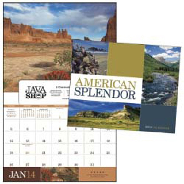 American Splendor - This Popular Scenic 2015 Calendar Is Now Available With A Window Ad Option Photo