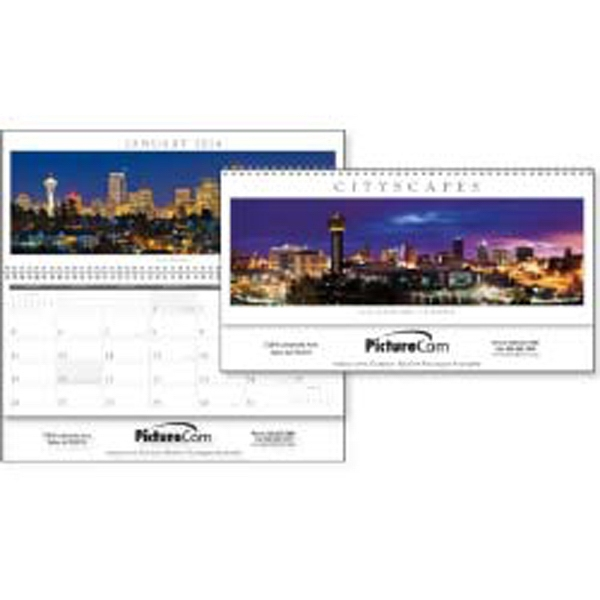 Cityscapes Panoramic - Be Engaged By Stunning Cityscapes From Across The U.s.a. In This 2015 Calendar Photo