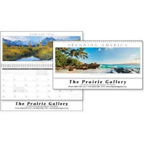 Spanning America Panoramic - Commanding Panoramic Landscapes Produce A Truly Stunning 2015 Calendar Photo