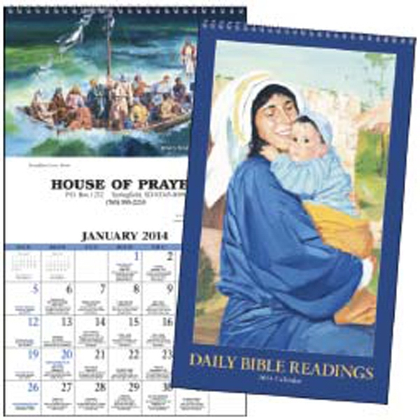 Daily Bible Readings - 2015 Calendar With Daily Excerpts From The King James Version Of The Bible Photo