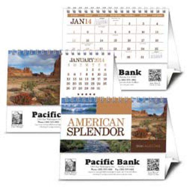American Splendor - 2015 Desk Calendar With Pictures Of America Photo